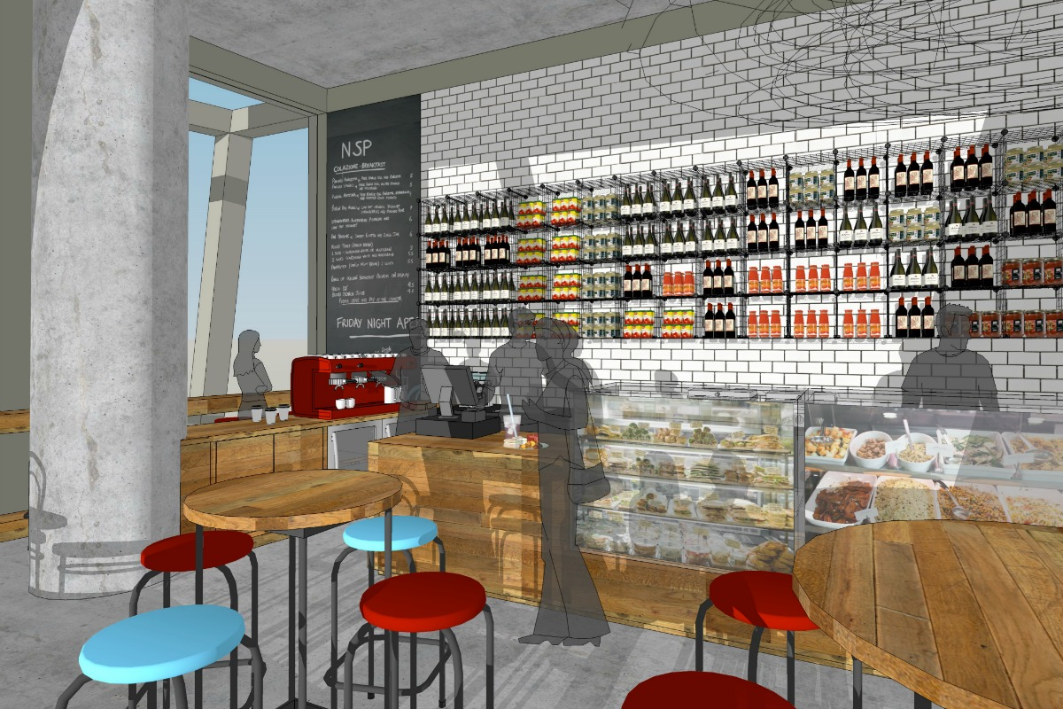 CAFE CONCEPT, Melbourne | MARTIN MCCORMICK DESIGN